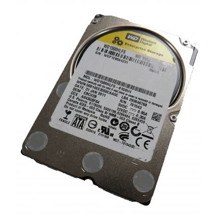 "Western Digital VelociRaptor WD1500HLFS 150GB SATA 2.5"" HDD No Caddy"