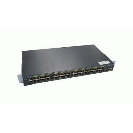 Cisco 2960 WS-C2960-48TT-S 48 Port Switch