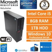Lenovo ThinkCentre M700, Intel i5 6400, 8GB RAM, 1TB HDD, Windows 10 PC