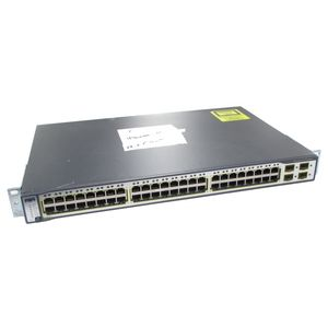 Cisco Catalyst WS-C3750-48TS-S V04 48 Port Switch