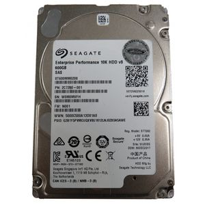 "Seagate Enterprise ST600MM0208 600GB 10K SAS 2.5"" SAS Hard Drive"