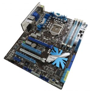 Asus P7H57D-V EVO Intel Socket 1155 Motherboard with Backplate