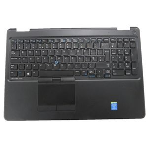 Dell E5550 Palmrest with TouchPad and Keyboard - Good Condition