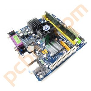 Gigabyte GA-GC330UD Mini-ITX Motherboard, Intel Atom 330 1.6GHz , 2GB RAM Bundle