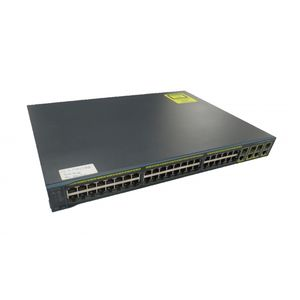 Cisco 2960G WS-C2960G-48TC-L V04 48 Port Gigabit Switch No Ears