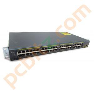 Cisco Catalyst WS-C2960-48TT-L V10 48 Port 10/100 FastEthernet Switch