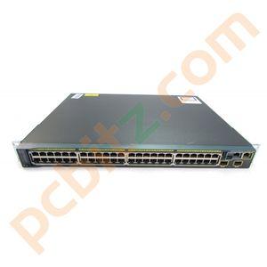Cisco WS-C2960S-48LPD-L V04 48 Port Gigabit PoE Switch
