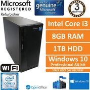 Zoostorm 7200-3083A i3-7100@3.9GHz 8GB DDR4 1TB HDD Win 10 Pro Tower