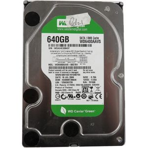 "Western Digital Caviar Green WD6400AAVS 640GB SATA 3.5"" Desktop Hard Drive"