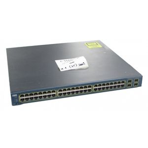 Cisco Catalyst WS-C3560G-48PS-S V05 48 Port PoE Gigabit Switch No Ears