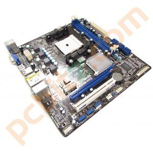 ASRock A55M-HVS Socket FM1 Motherboard With BP