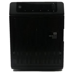 Western Digital Sentinel DX4000 4 CADDIES NAS Box No HDDs POST Only