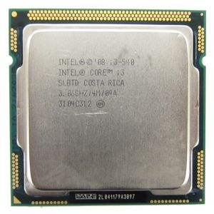 Intel Core i3-540 SLBTD 3.06GHz Socket LGA1156 CPU