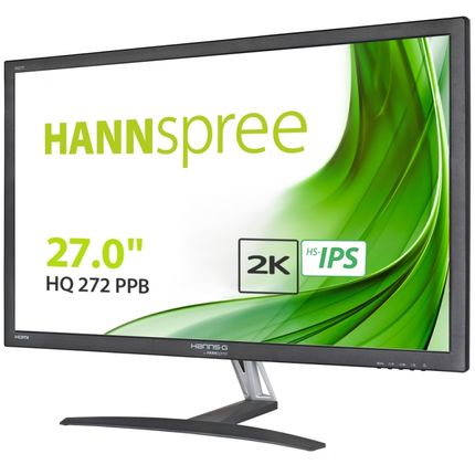 "HANNSPREE HQ272 27"" WQHD LCD Monitor"