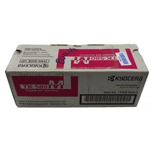 New Genuine Kyocera TK-580 Toner Kit (Magenta)