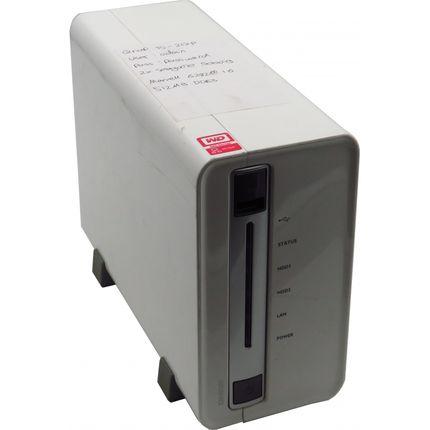 QNAP TS-212p 2-Bay NAS Server 2x500GB HDDs