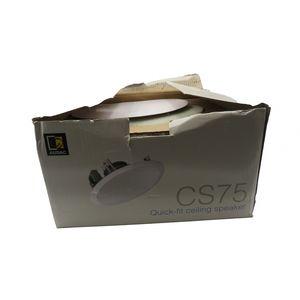 Brand New Audac CS75 Quick-Fit RMS 30W ceiling speaker (Damaged box)