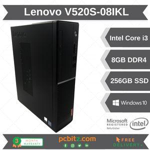 Lenovo V520S-08IKL i3-7100 @ 3.90GHz 8GB DDR4 256GB SSD *DEAD DISPLAYPORT*