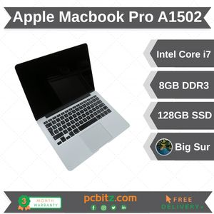 Apple Macbook Pro A1502, i7-4558u 2.8Ghz, 8GB DDR3, 128GB SSD, OSX Big Sur, 2013