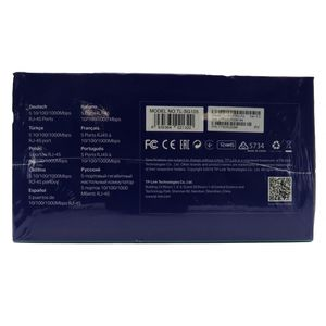 TP-LINK TL-SG105 5 Port Gigabit Switch Brand New Sealed In Box