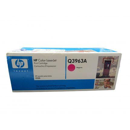 New Genuine HP Q3963A Magenta Toner Cartridge Sealed Box