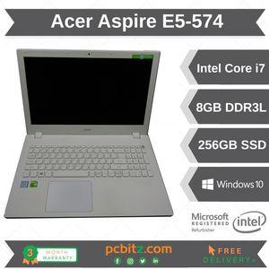 "Acer Aspire E5-574 Intel i7-6500u, 8GB 256GB SSD, Windows 10 15.6"" Laptop"