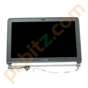 HP Chromebook CB2 Complete screen with lid, bezel and cables white