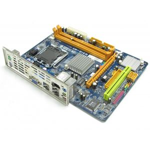 Biostar G31D-M7 v7.1 LGA775 Core 2 G31 GMA 3100 mATX Motherboard with Backplate