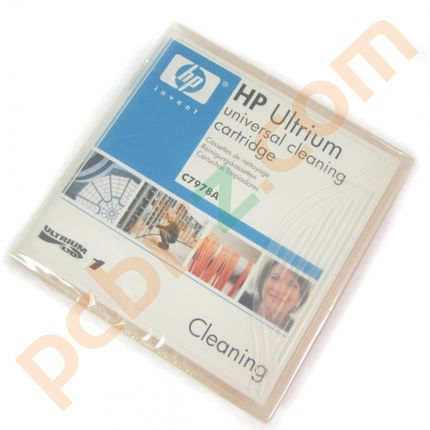 HP Ultrium Universal Cleaning Cartridge C7978A