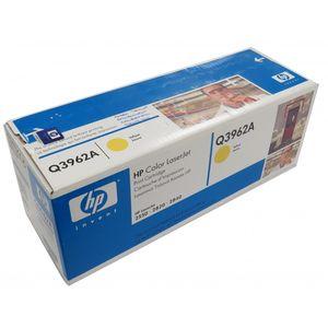 New Genuine HP Q3962A Yellow Print Toner Cartridge