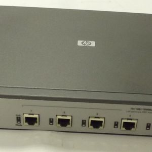 HP Procurve 2708 J4898A 8 Port Gigabit Switch NO EARS