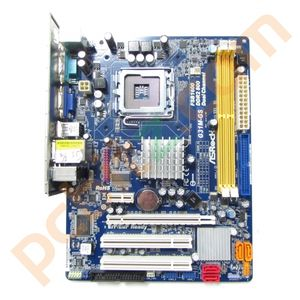 ASRock G31M-GS Rev 2.04 Socket 775 Motherboard with BP