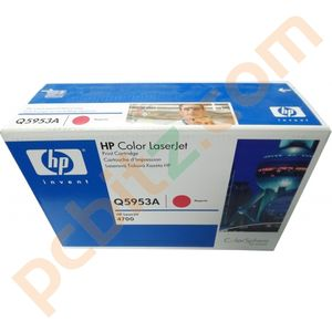 HP Q5953A LaserJet 4700 Genuine Magenta Toner