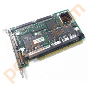 AMI Series 493 REV-C1 SCSI 128MB RAID Card With Battery