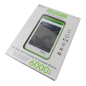 Cobra Solar USB Charger CPP-100SP-E 6000mah