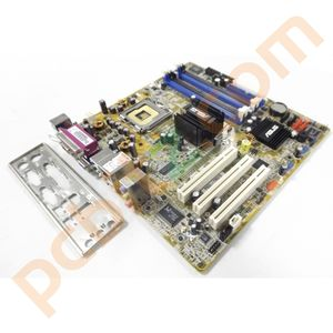 Asus P5GL-TMX/S Rev. 1.00 LGA775 Motherboard With BP