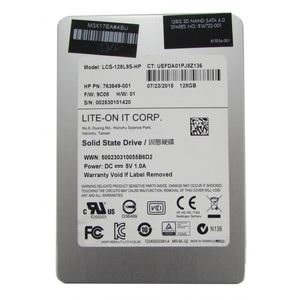 "HP Lite-On LCS-128L9S-HP 128GB 2.5"" SATA SSD Solid State Drive"