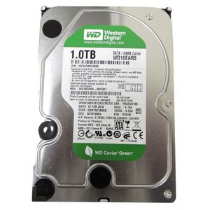 "Western Digital Caviar Green WD10EARS 1TB SATA 3.5"" Desktop Hard Drive"