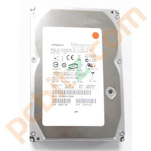 "2 x Hitachi Ultrastar HUS153073VLS300 73GB SAS 3.5"" Hard Drive"